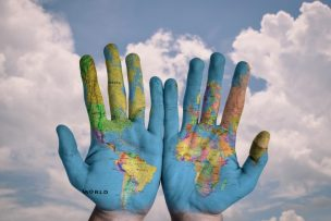 hands-world-map-global-earth-globe-blue-creative