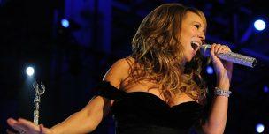 オーディション番組について説明した文章のイメージ画像です。ステージ上で気持ちよさそうに歌う女性歌手。