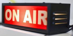 ラジオのオンエア