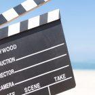 映画撮影の風景