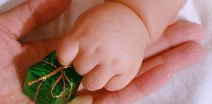 赤ちゃんのプレゼント
