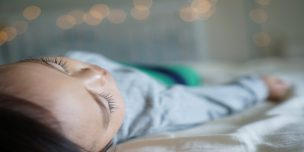 「寝言泣き」って何?赤ちゃんの夢とも関係があるって本当?という記事中のイメージ画像です。
